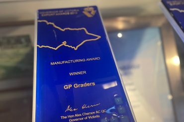 gpgraders-2013 Australian Export Awards – Manufacturing Finalist