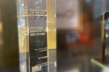 gpgraders-GP Graders Honoured at Victorian Manufacturing Hall of